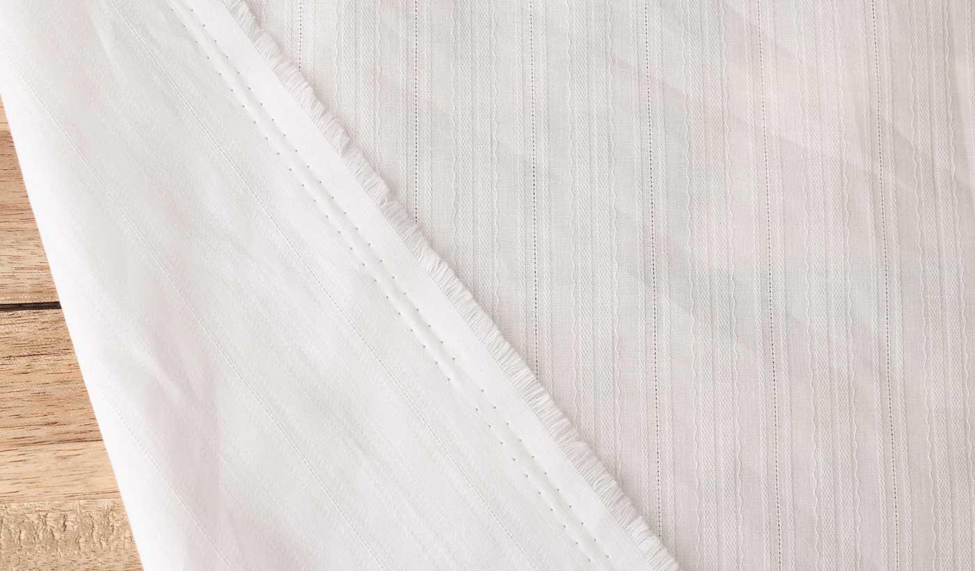 ドビー織りコットン