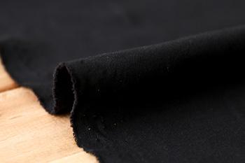 4.ブラック(生地巾:160cm)